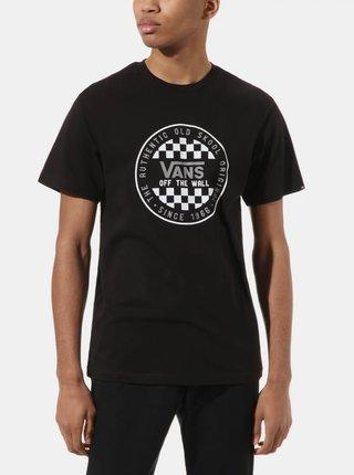 Černé pánské tričko s potiskem VANS