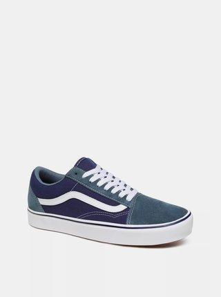 Modré semišové tenisky VANS