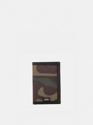 Khaki maskáčová peněženka VANS