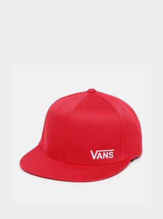 Červená pánská kšiltovka VANS