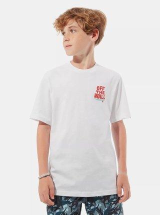 Biele chlapčenské tričko VANS