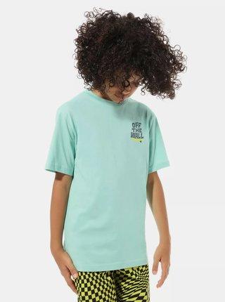 Tyrkysové chlapčenské tričko VANS
