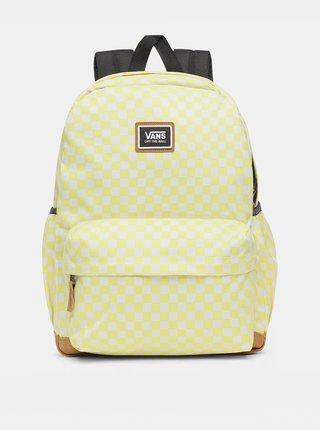 Žlutý vzorovaný batoh VANS 27 l