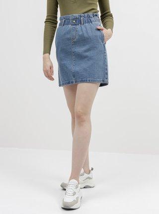 Modrá rifľová sukňa Noisy May Judo