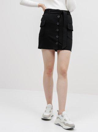 Čierna sukňa Noisy May Hipe