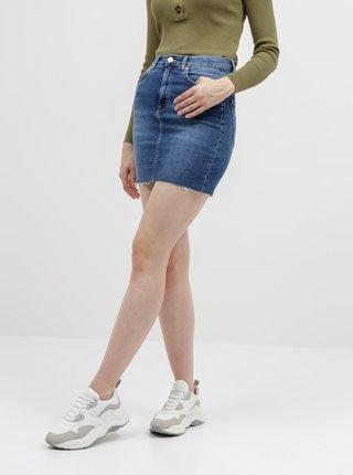 Modrá púzdrová rifľová sukňa Alcott