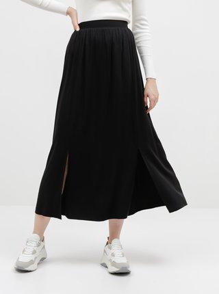 Černá maxi sukně VILA Suvita