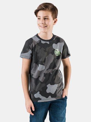 Khaki klučičí maskáčové tričko SAM 73