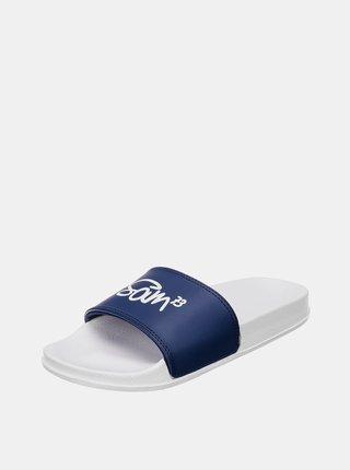 Tmavě modré dámské pantofle SAM 73
