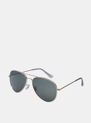 Slnečné okuliare v zlatej farbe Jack & Jones