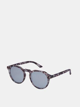 Šedé vzorované slnečné okuliare Jack & Jones