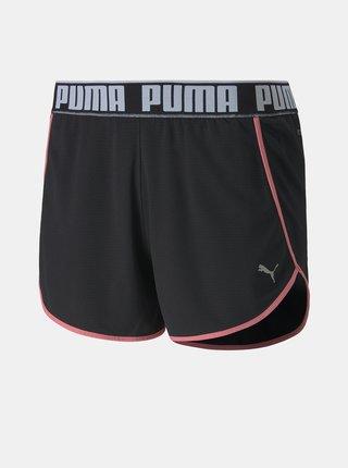Čierne dámske kraťasy Puma