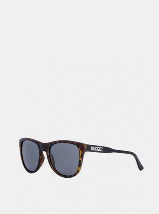 Hnědé vzorované sluneční brýle NUGGET Whip