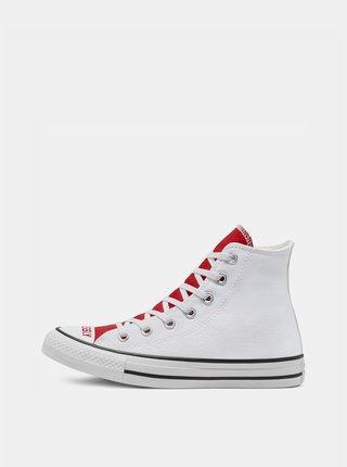 Bílo-červené dámské tenisky Converse Chuck Taylor All Star