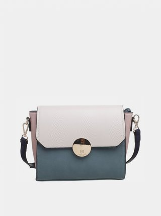 Béžovo-zelená kabelka Bessie London