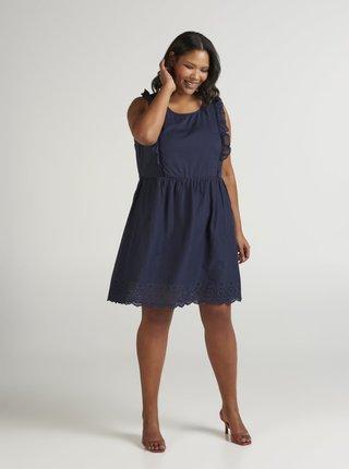 Tmavomodré šaty Zizzi