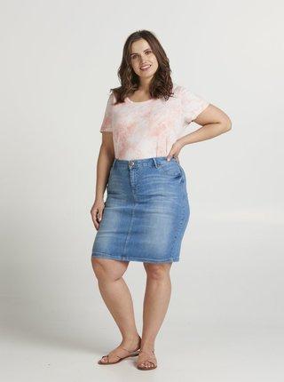 Modrá džínová sukně Zizzi