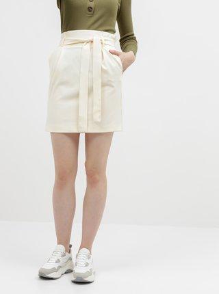 Krémová sukně ONLY