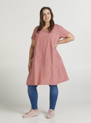 Ružové šaty Zizzi