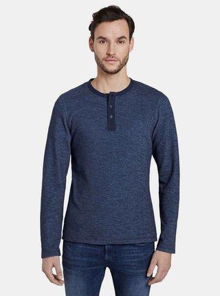 Tmavomodré pánske tričko Tom Tailor