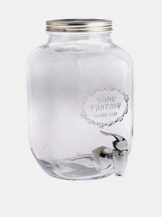 Sklenená nádoba na vodu Dakls 4 l