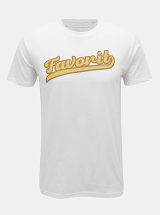 Bílé pánské tričko ZOOT Original Favorit