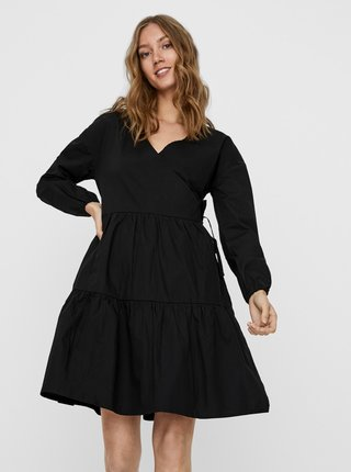 Čierne voľné šaty Noisy May Pinar
