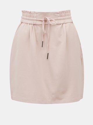 Světle růžová sukně VERO MODA Eva