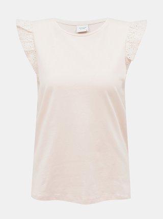 Svetloružový top Jacqueline de Yong Engel