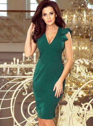 Zelené púzdrové šaty Numoco