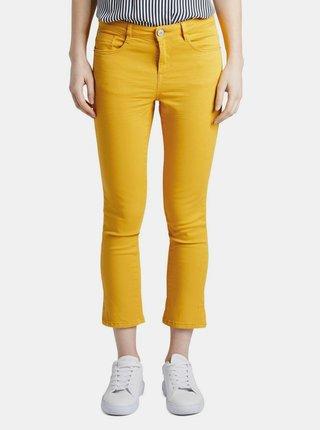Žluté dámské kalhoty Tom Tailor