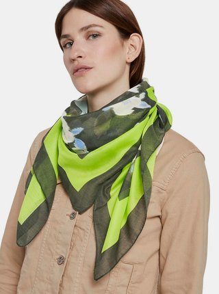 Zelený dámský šátek Tom Tailor