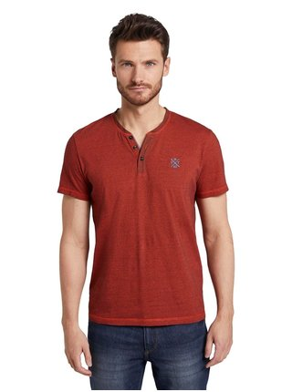 Hnedé pánske tričko Tom Tailor