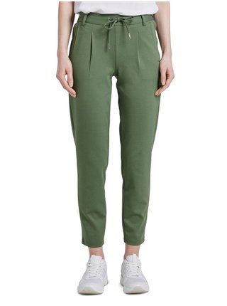 Zelené dámske nohavice Tom Tailor Denim