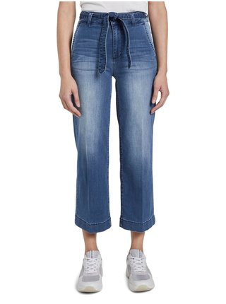 Modré džínové culottes Tom Tailor