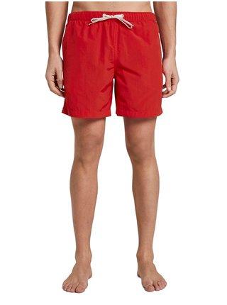 Červené pánske plavky Tom Tailor