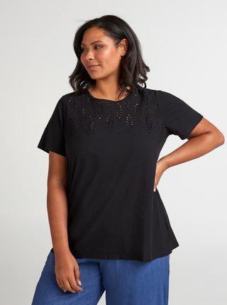 Čierne tričko Zizzi