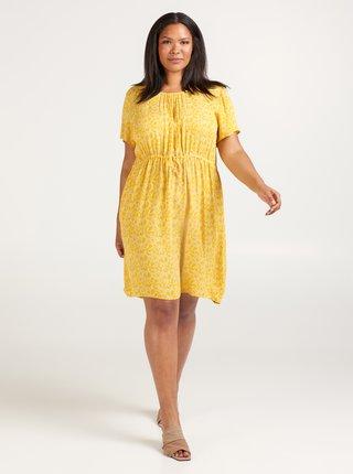 Žlté kvetované šaty Zizzi