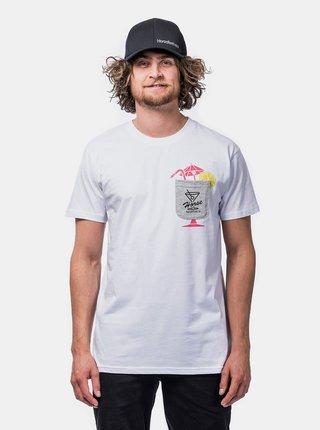Biele pánske tričko Horsefeathers