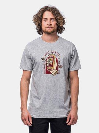 Šedé pánské tričko Horsefeathers