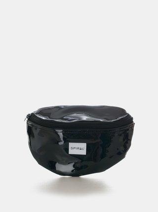 Čierna lesklá ľadvinka Spiral
