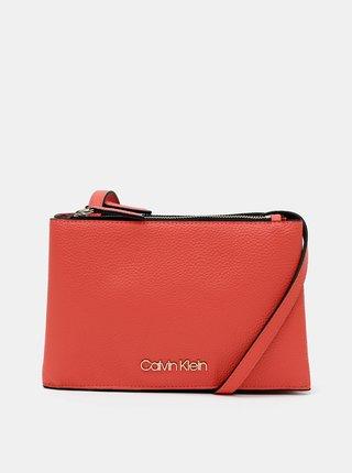 Červená crossbody kabelka Calvin Klein Jeans
