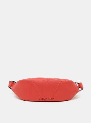 Červená dámská ledvinka Calvin Klein Jeans
