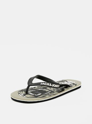 Kaki žabky Jack & Jones Tiger