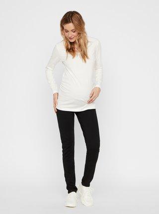 Čierne tehotenské nohavice Mama.licious Alba