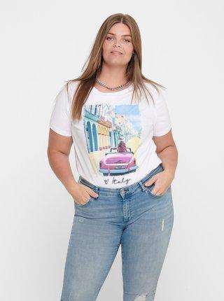 Biele tričko ONLY CARMAKOMA California