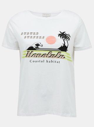 Bílé tričko ONLY CARMAKOMA Lena