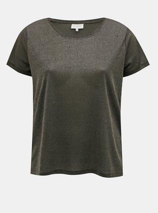 Tmavě šedé basic tričko ONLY CARMAKOMA Rex