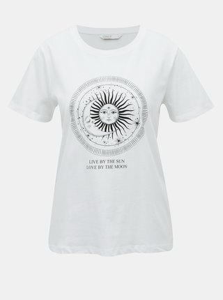 Bílé tričko ONLY Symbol