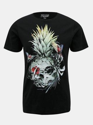 Černé tričko Jack & Jones Raf